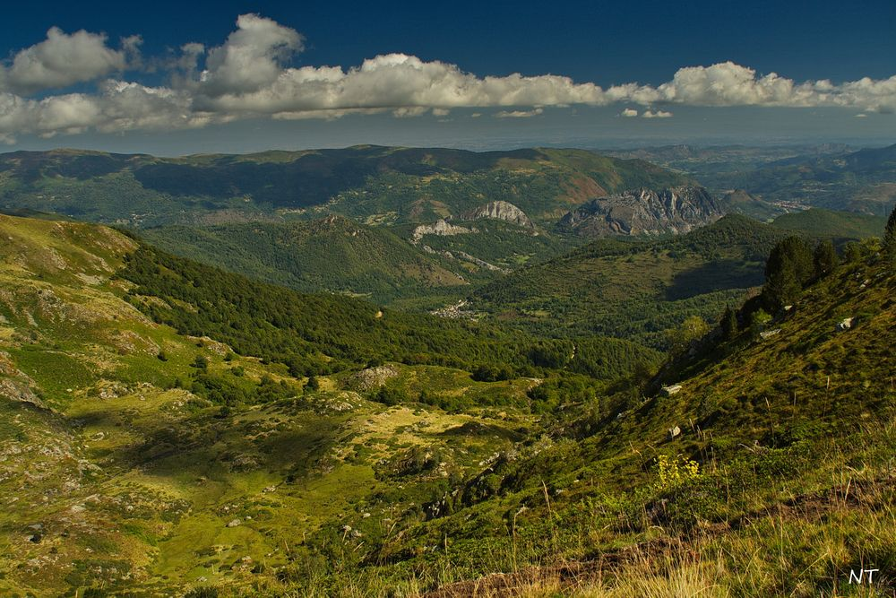 La vallée de l'Artax (Ariège).