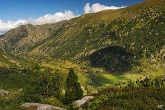 La vallée du Quioules (Ariège).
