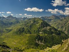 La vallée du Rieutort (Ariège).