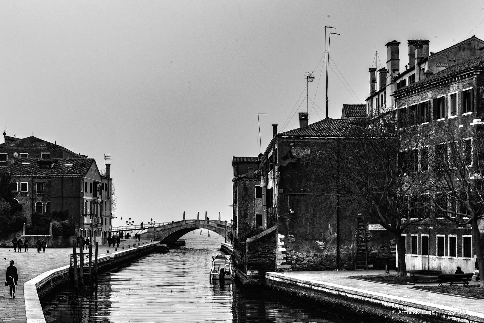 la Venezia dell'Arsenale