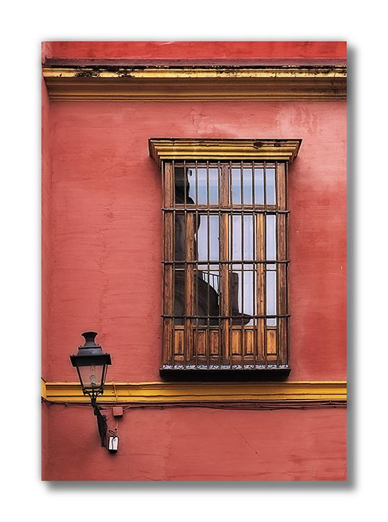 La ventana y la farola