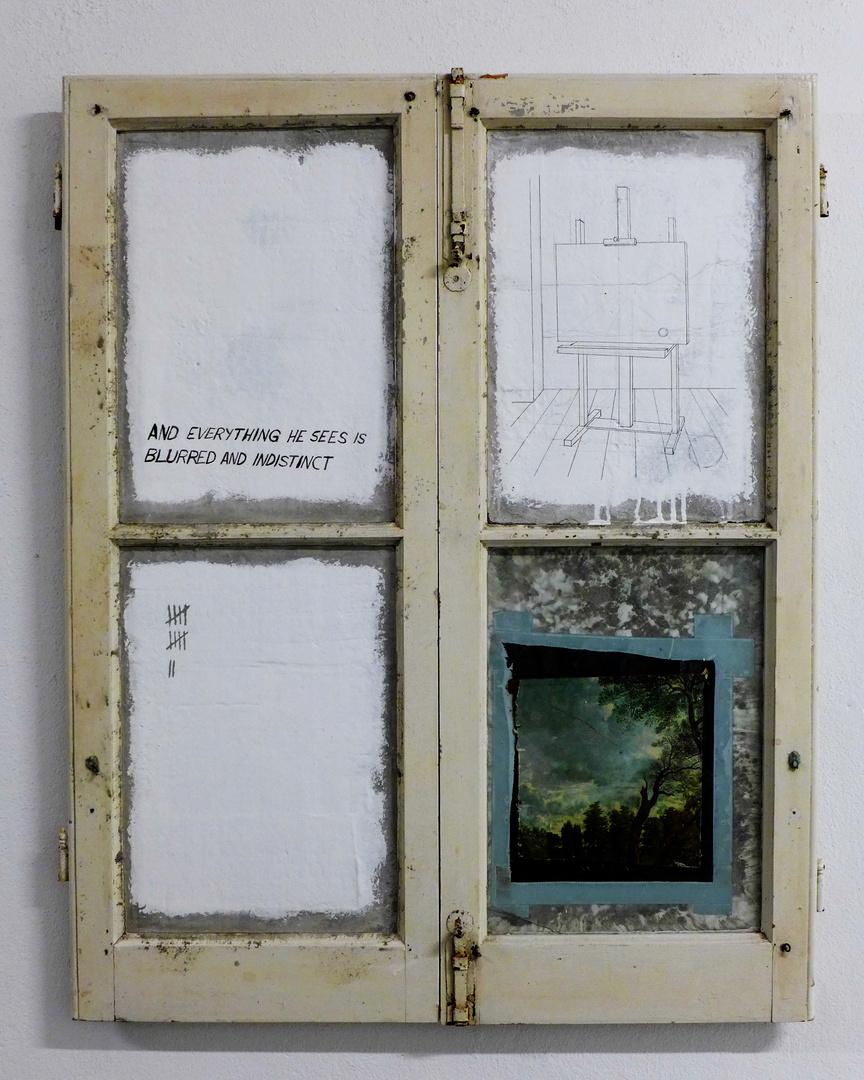 La ventana (Y todo lo que ve es borroso y confuso)