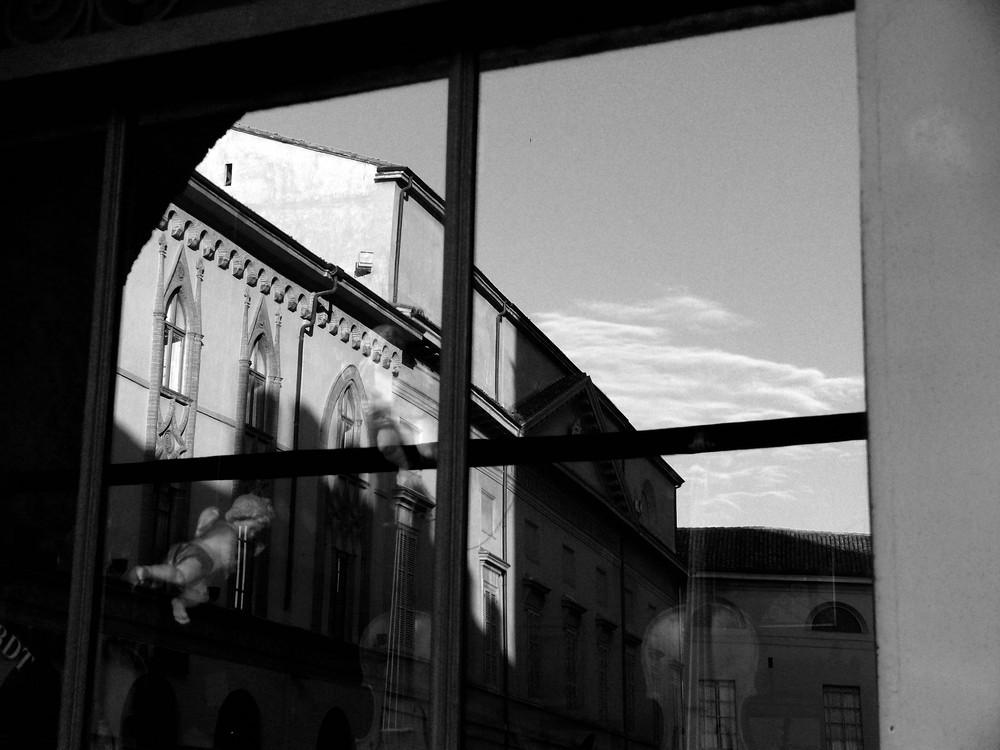 La vetrina del liutaio