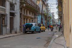 La vida en la calle de Habana