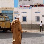 La vie tranquille : dans une rue de Sidi Ifni