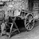 """ La vieille charrette """