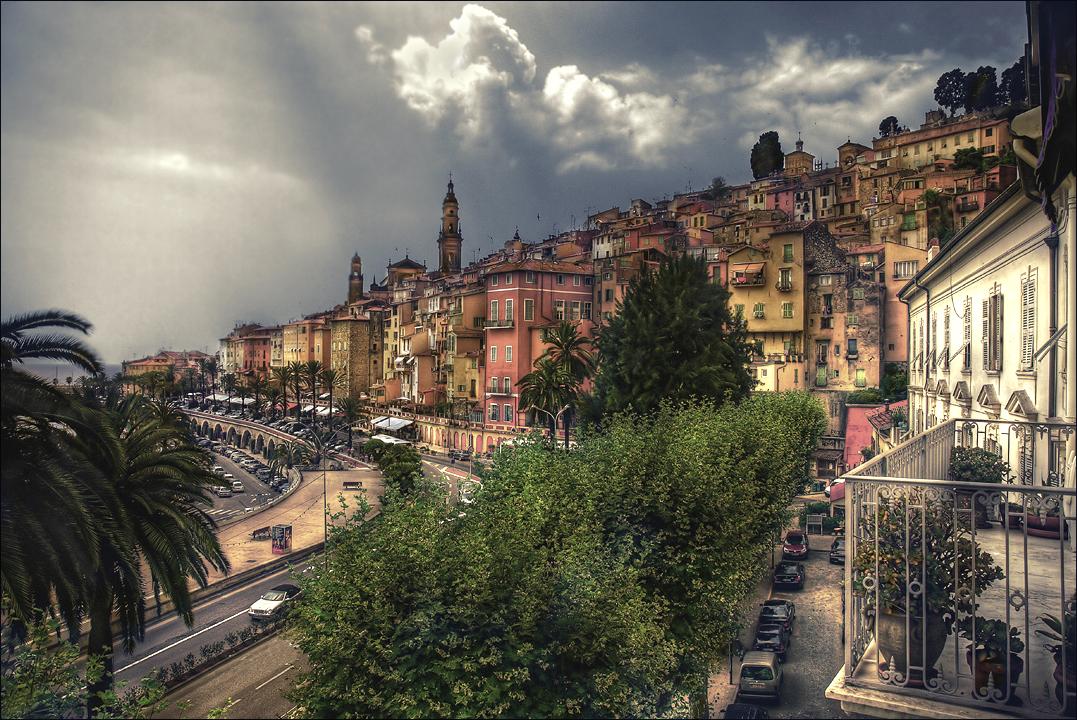 La ville orange