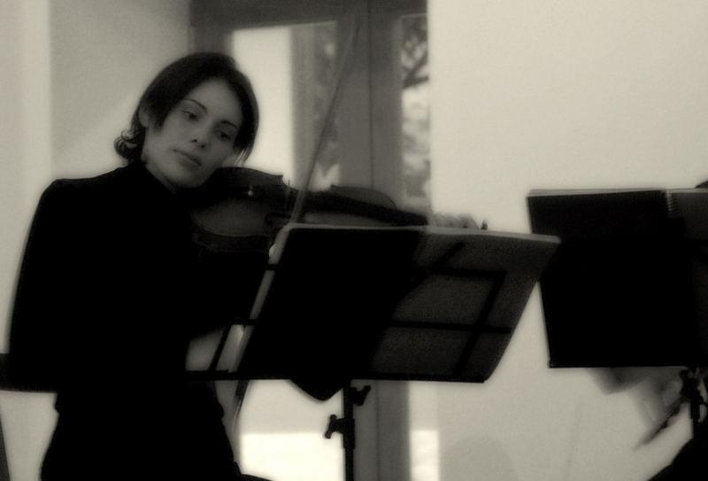 La violinista Spagnola