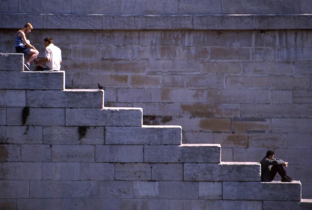 La vita è fatta a scale...