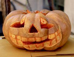 La Zucca sorridente Di Hallowen