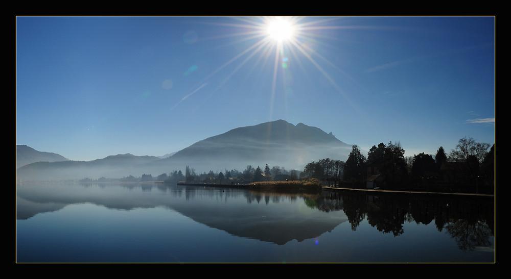 Lac d'Annecy : le port de Saint-Jorioz