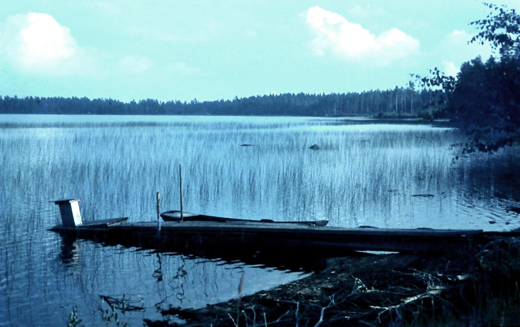 Lac dans le Jämtland