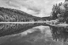 Lac de Lispach II blanc & noir