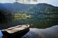 Lac de Longemer Herbst