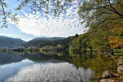 Lac de Longemer Wolken