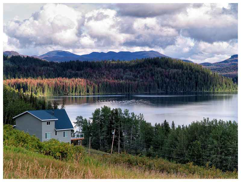 Lac de Roche - Kanada, B.C.