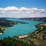 Lac-de-Ste. Croix ...am Ende des Gorges du Verdon
