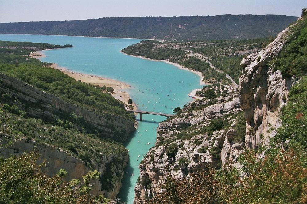 Lac de Ste Croix in der Haute Provence