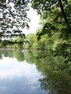 lac de valin au printemps
