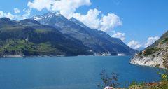 lac du barrage de tignes