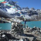 lac gokyo en automne (nepal
