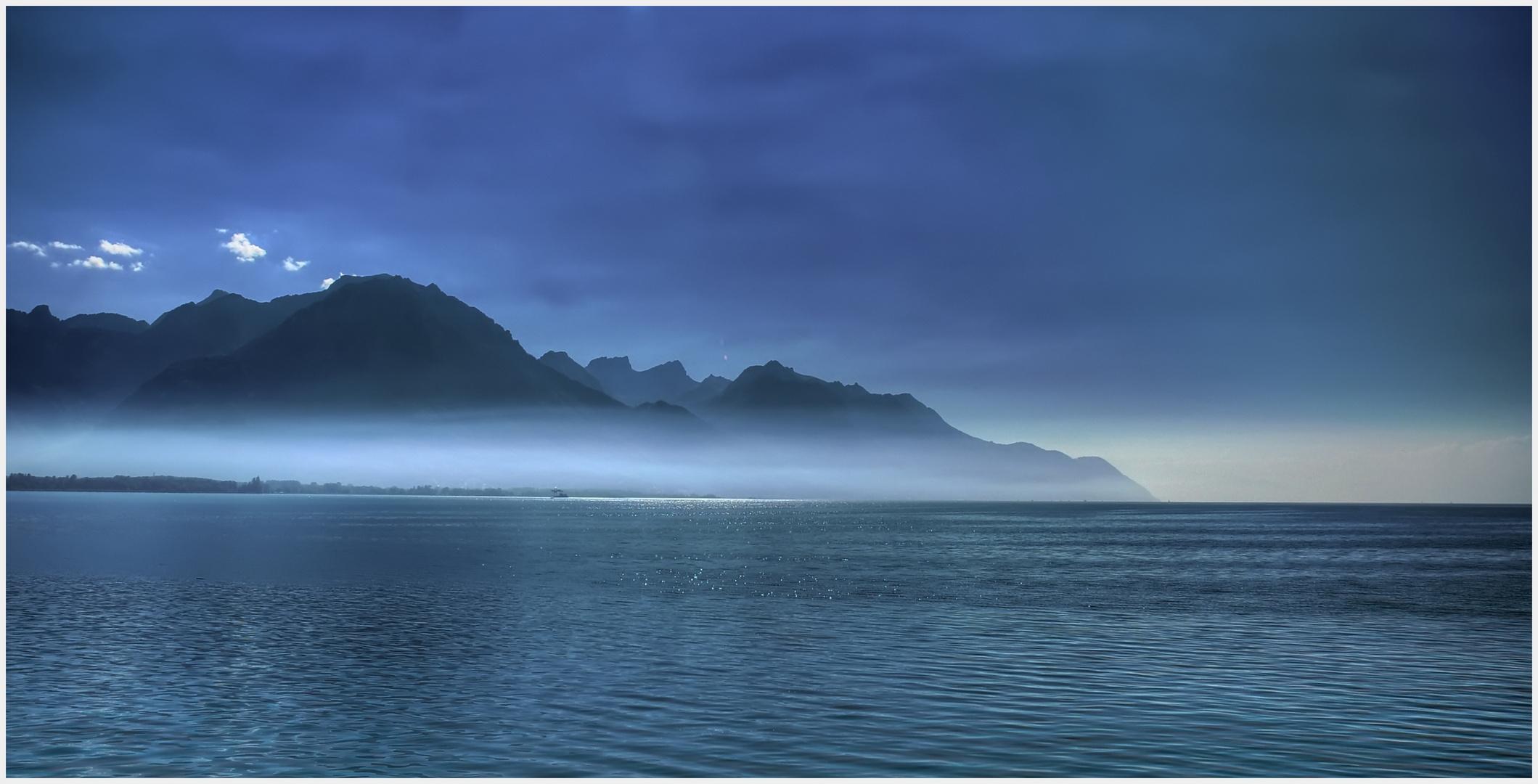 Lac Léman bei Montreux