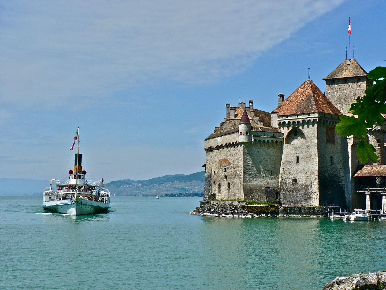 Lac Léman - Chateau de Chillon - Montreux
