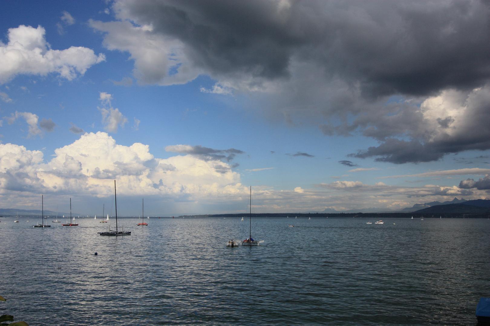 Lac Léman coté Genève