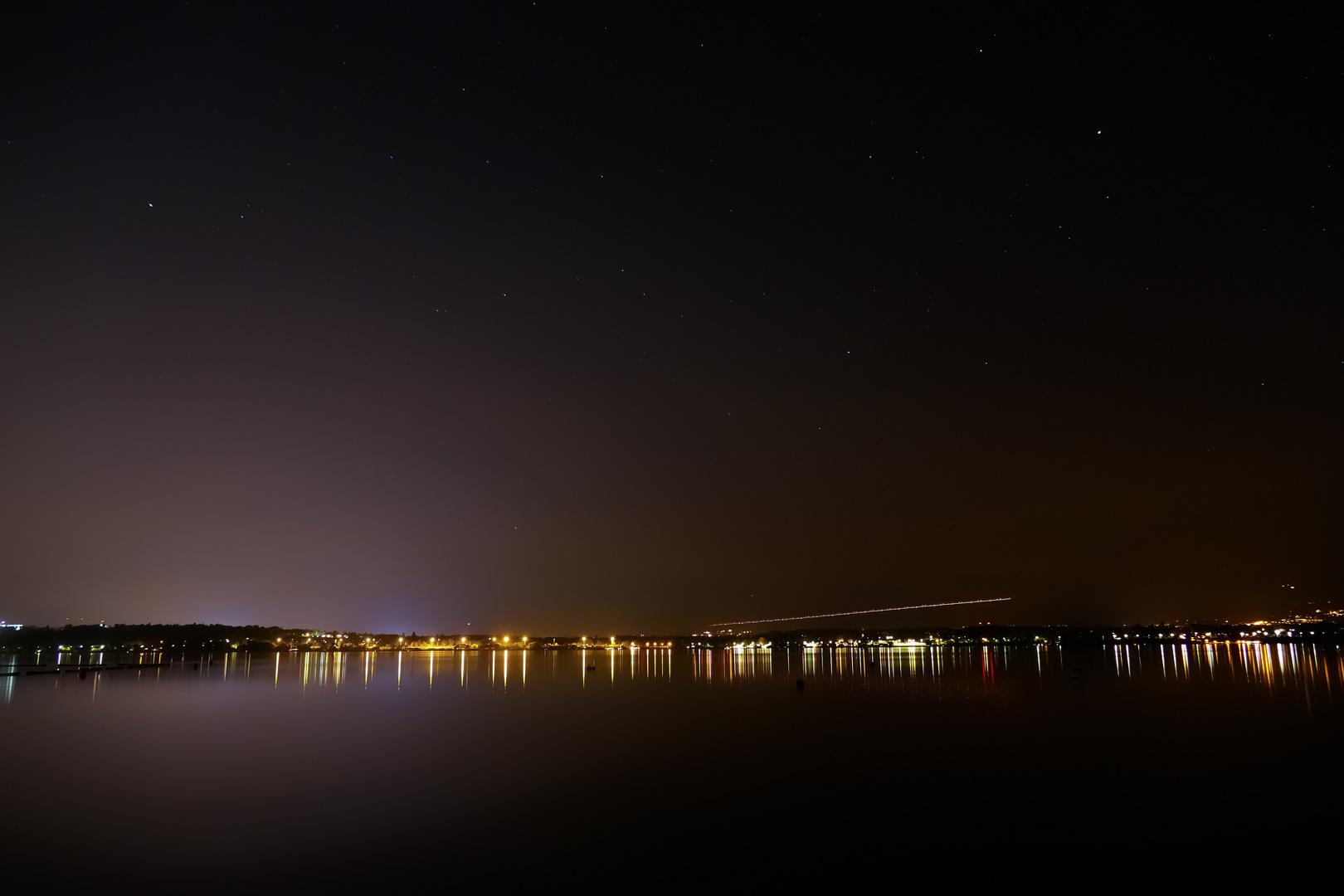 Lac Leman Geneve Swiss Night