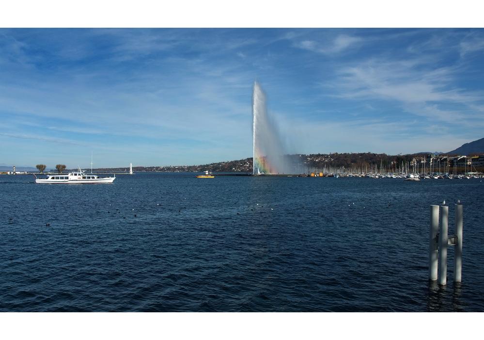 Lac Léman - Jet d'eau II