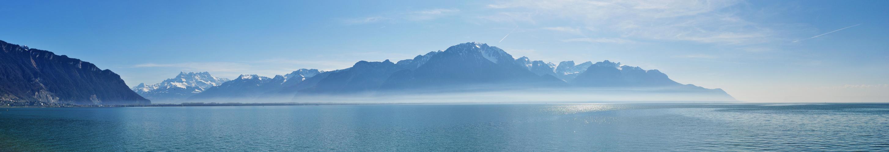 Lac Léman / Montreux VD