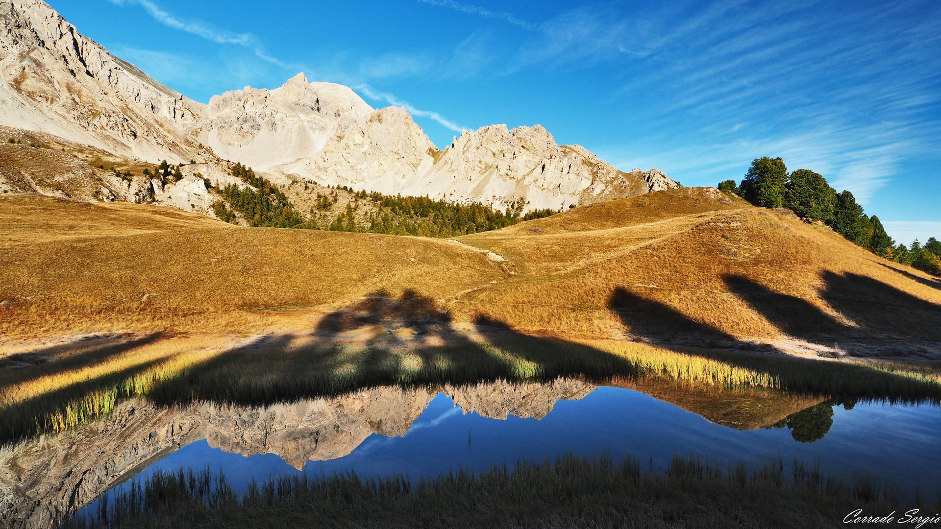 Lac Miroir 2214 m.