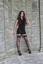 laced stockings but unfortunately no fool