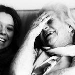 Lachen, oder spontan entstandene Nähe....