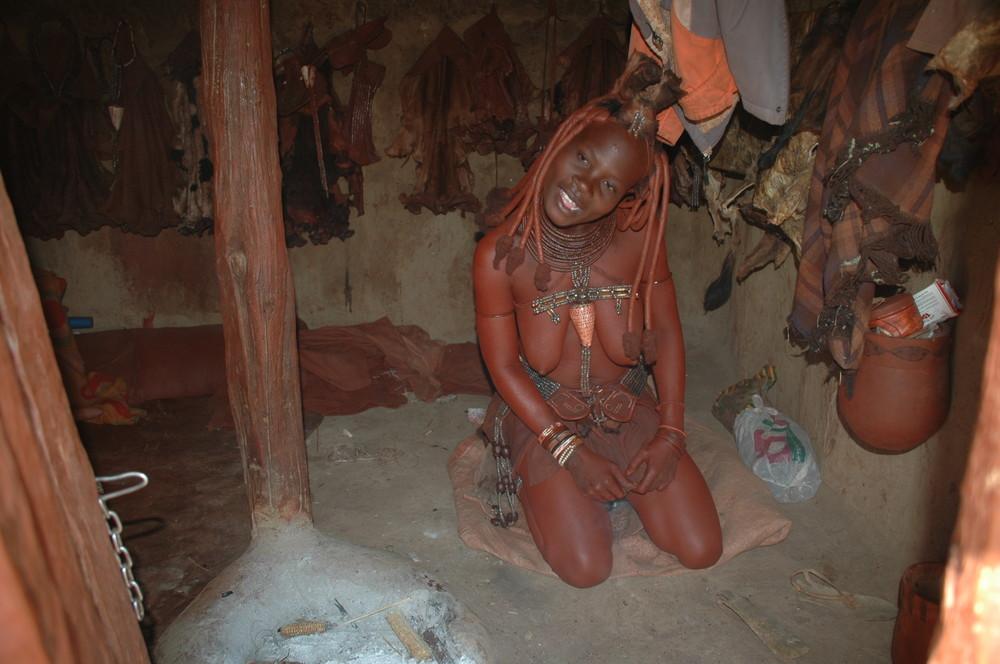 Lachende Himba