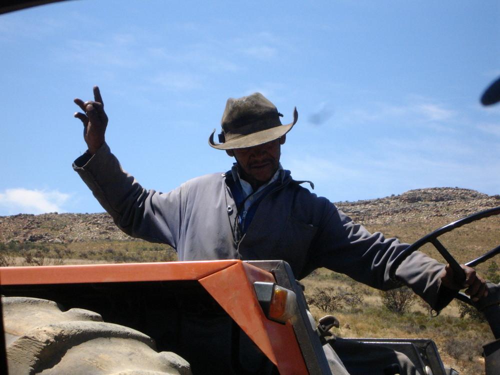 lachende menschen trotz harter arbeit- südafrikanische impressionen I