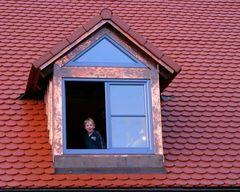 Lachendes Fenster