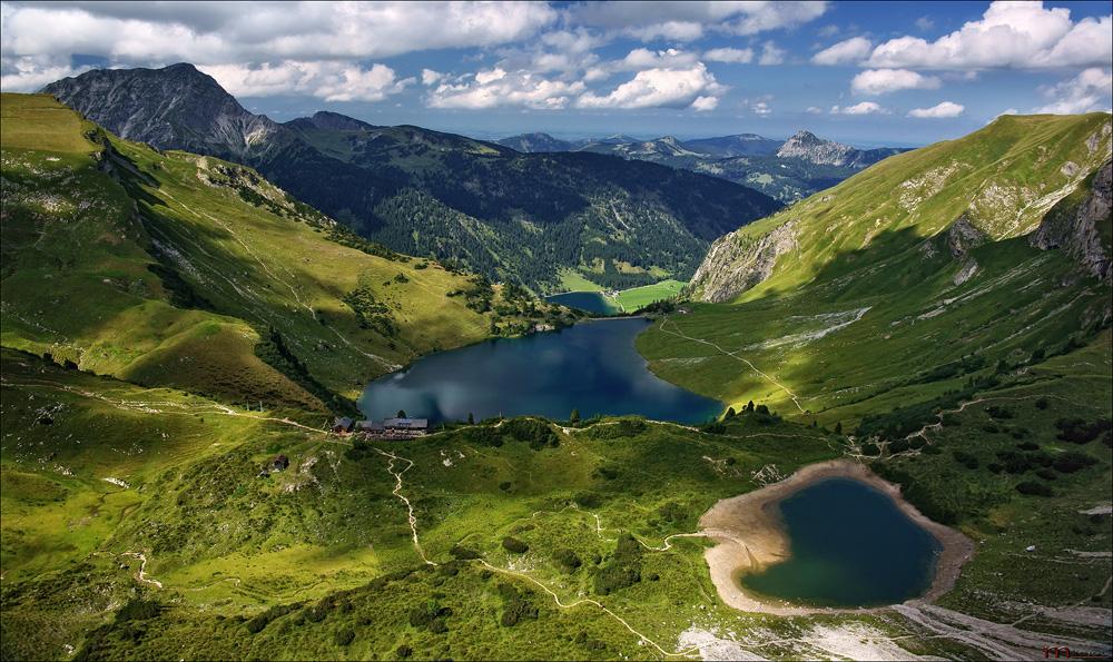 Klettersteig Lachenspitze : Lachenspitze klettersteig . foto & bild landschaft berge
