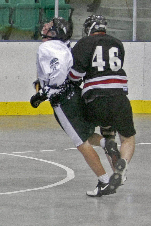 Lacrosse not for the faint of heart
