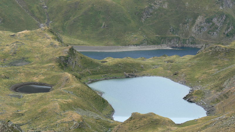Lacs Bleu, Vert . 0707