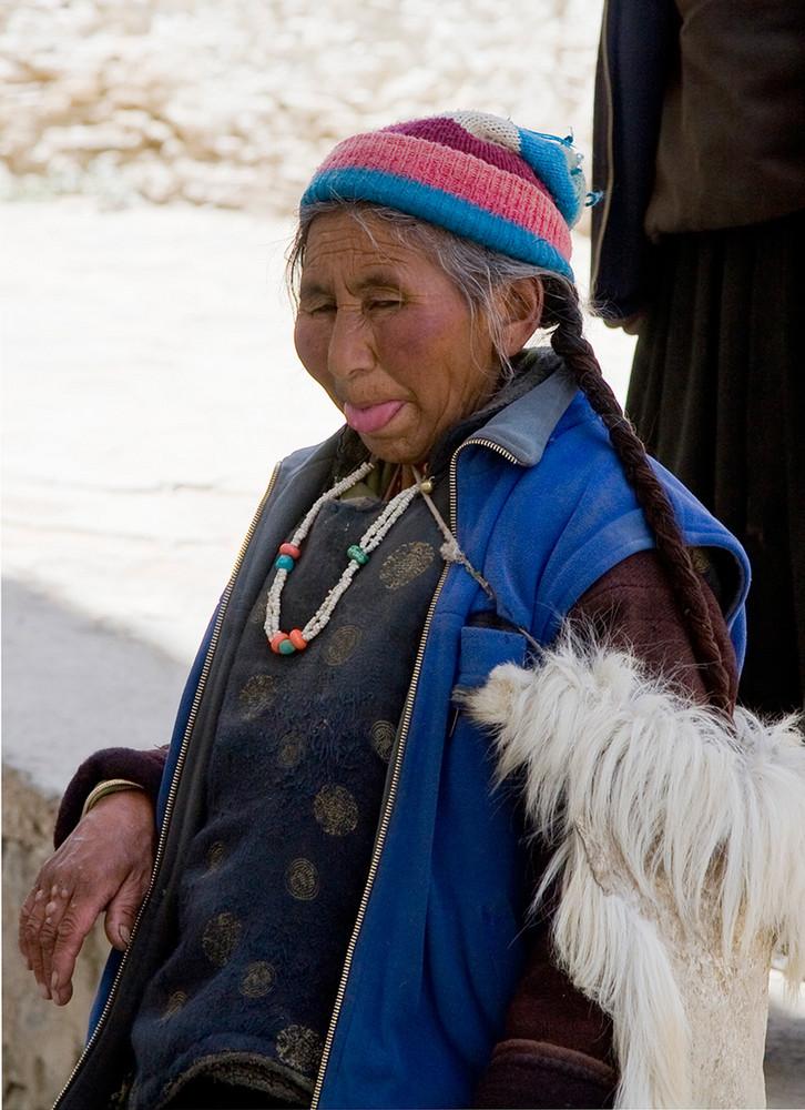 Ladakhischer Gruss