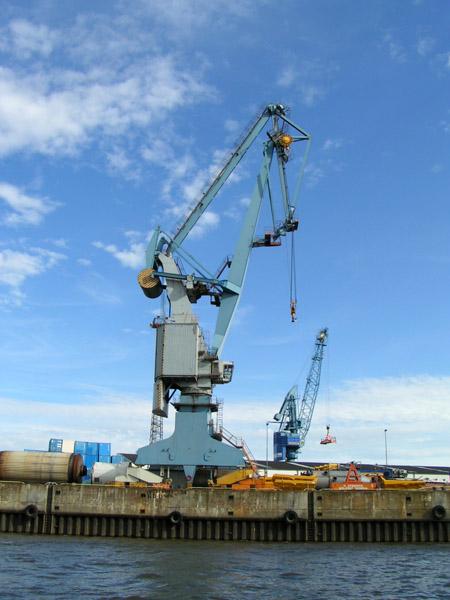 Ladekran Hamburg Hafen