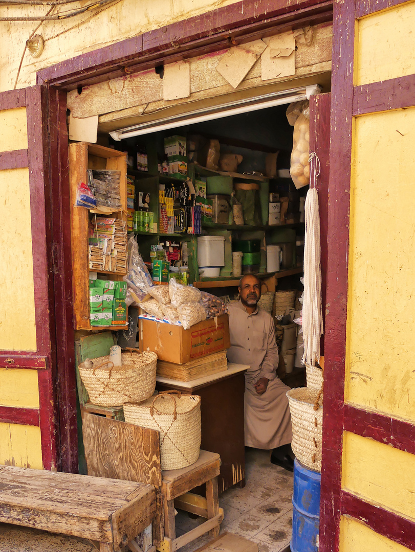 Laden in Edfu