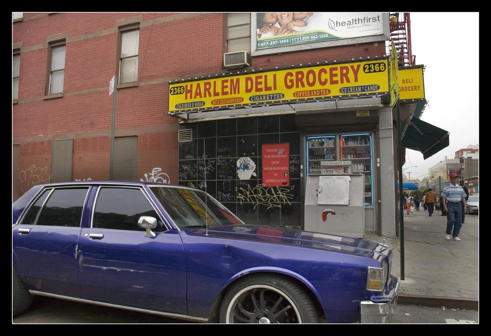 Laden in Harlem New York