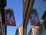 Ladenschild in Quedlinburg - Shop Window Reflection 3D