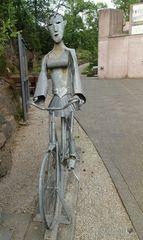 Lady Biking :-)