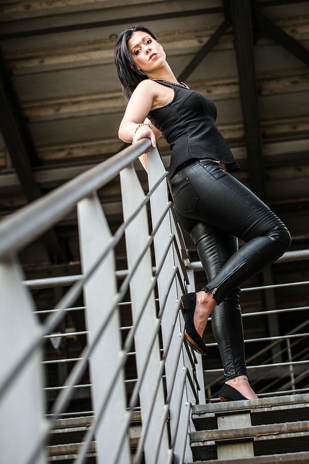 Lady in Black ;)