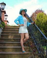 Lady in Light Blue