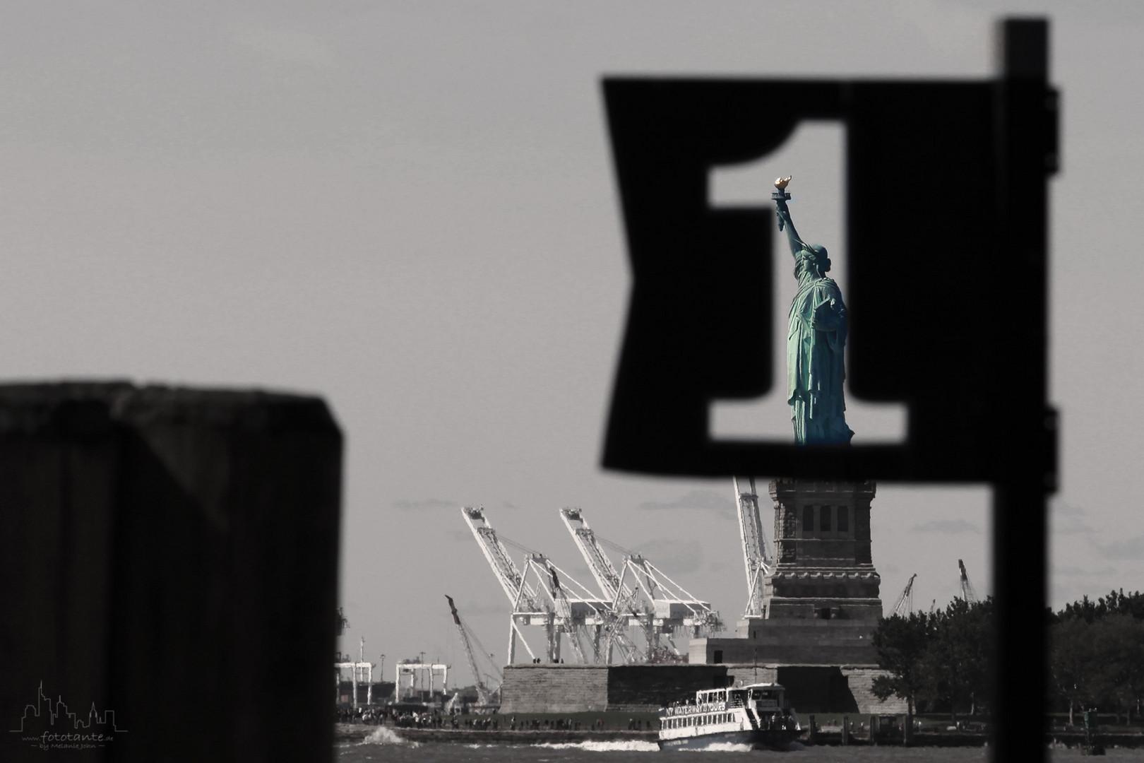 Lady Liberty, No. 1