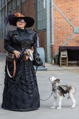 Lady mit Hund